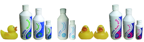 waterless cleaning products with a couple of ducks!